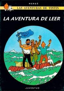 Tintin la aventura de leer