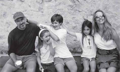 SteveJobs y su familia