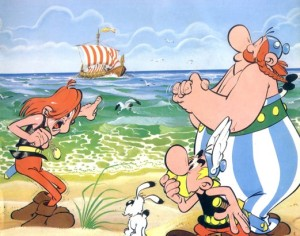 Asterix en el mar