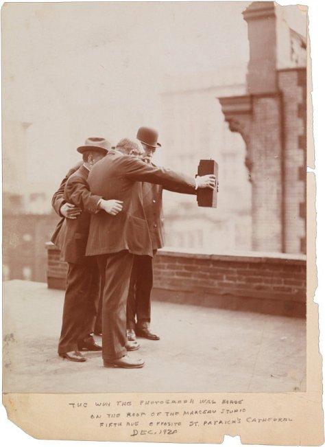 selfie en 1920